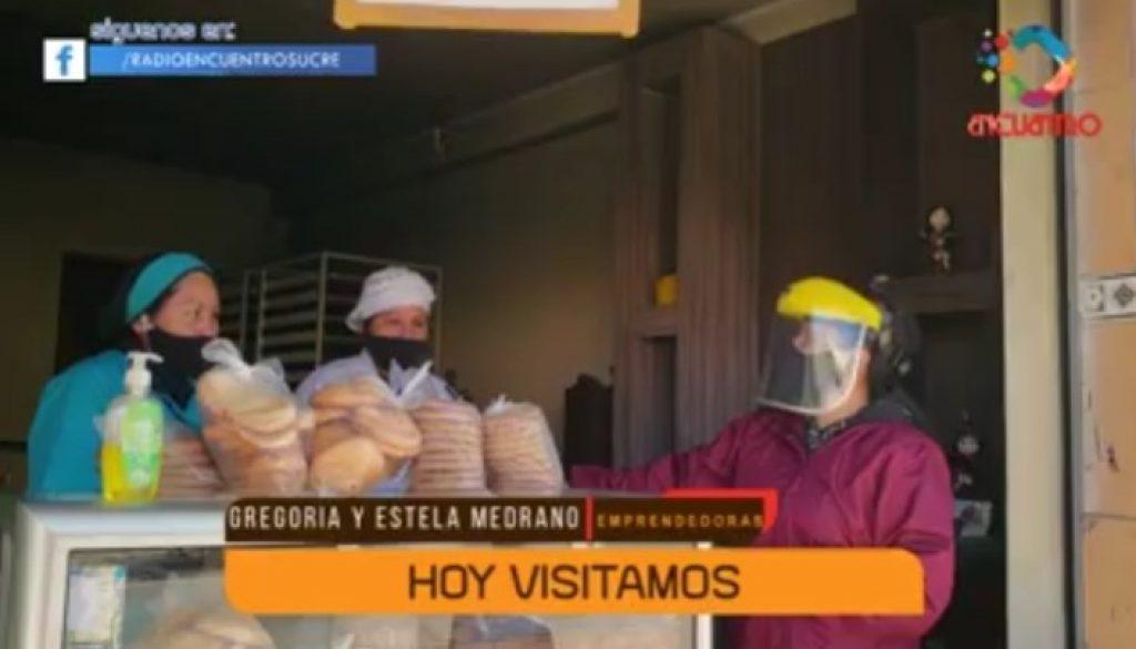 Barrio Av. Marcelo Quiroga Santa Cruz Gregoria y Estela Medrano Seguimiento Emprendimiento